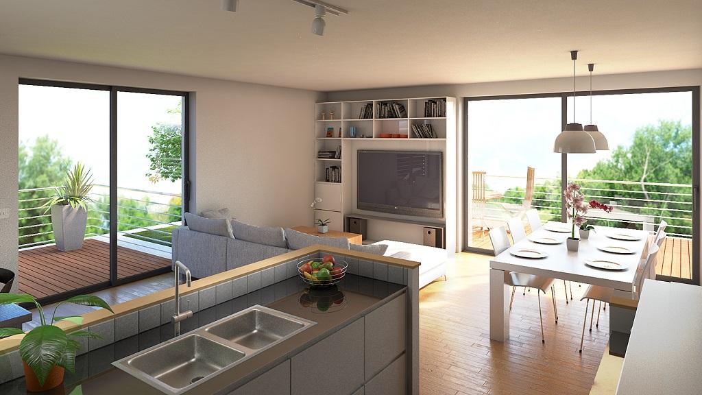 Rénovation d'appartement Vue Intérieure
